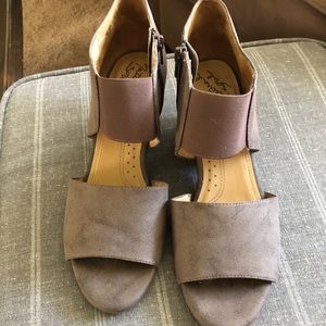 Natural Sole Ankle Bootie Style with strap